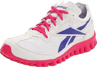 Reebok RealFlex Run Running Shoe (Little KidBig Kid),Overtly Pink
