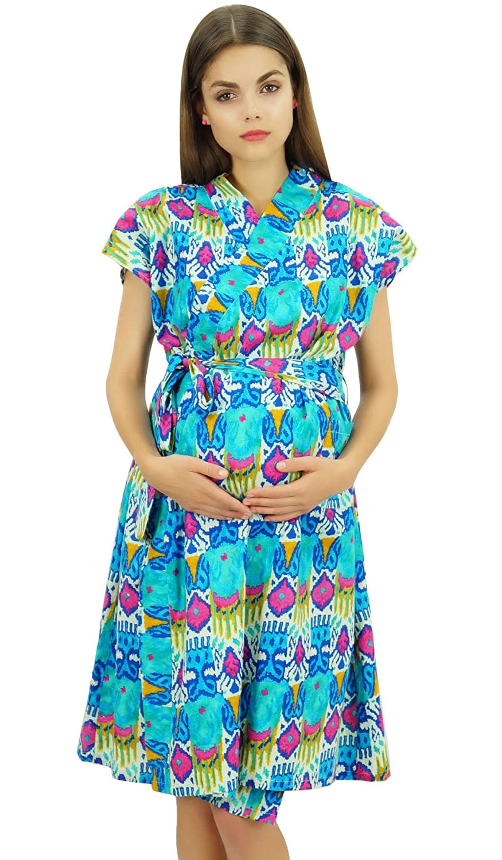 Bimba Estampado De Maternidad De Enfermería De Algodón Con Botones Laterales: Amazon.es: Ropa y accesorios