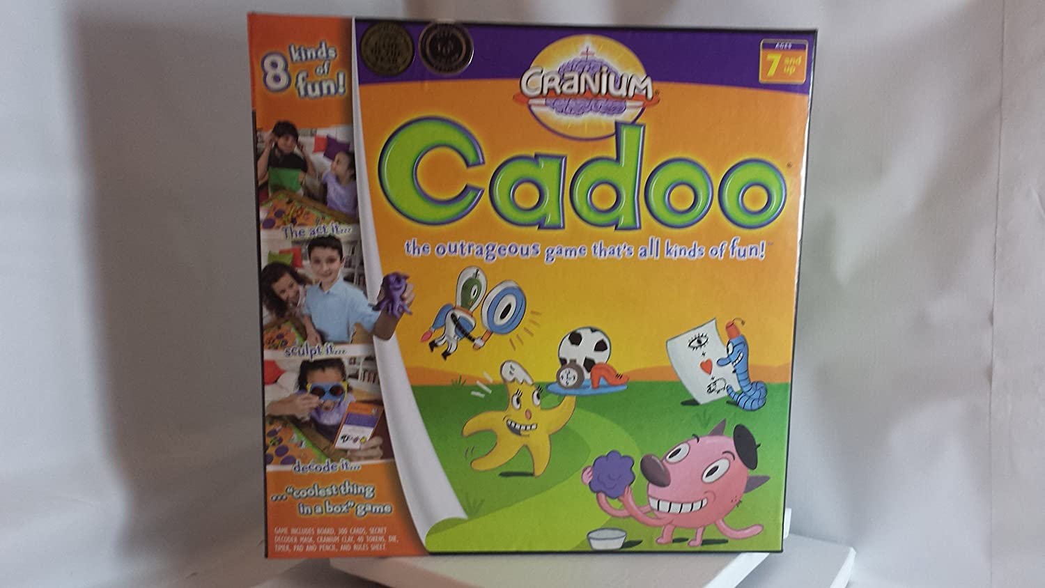 moda Cranium Cadoo..the Outrageous Game Game Game That's All Kinds of Fun..8 Kinds of Fun  marca de lujo
