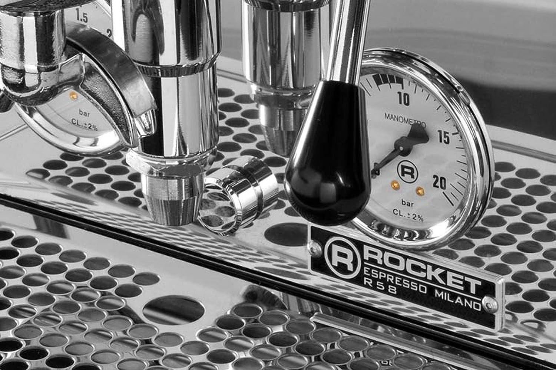 Dualboiler-Espresso Siebträgermaschine Rocket R58 V2 Dual