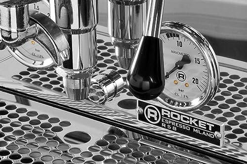 Dualboiler-Espresso Siebträgermaschine Rocket R58 Dual boiler