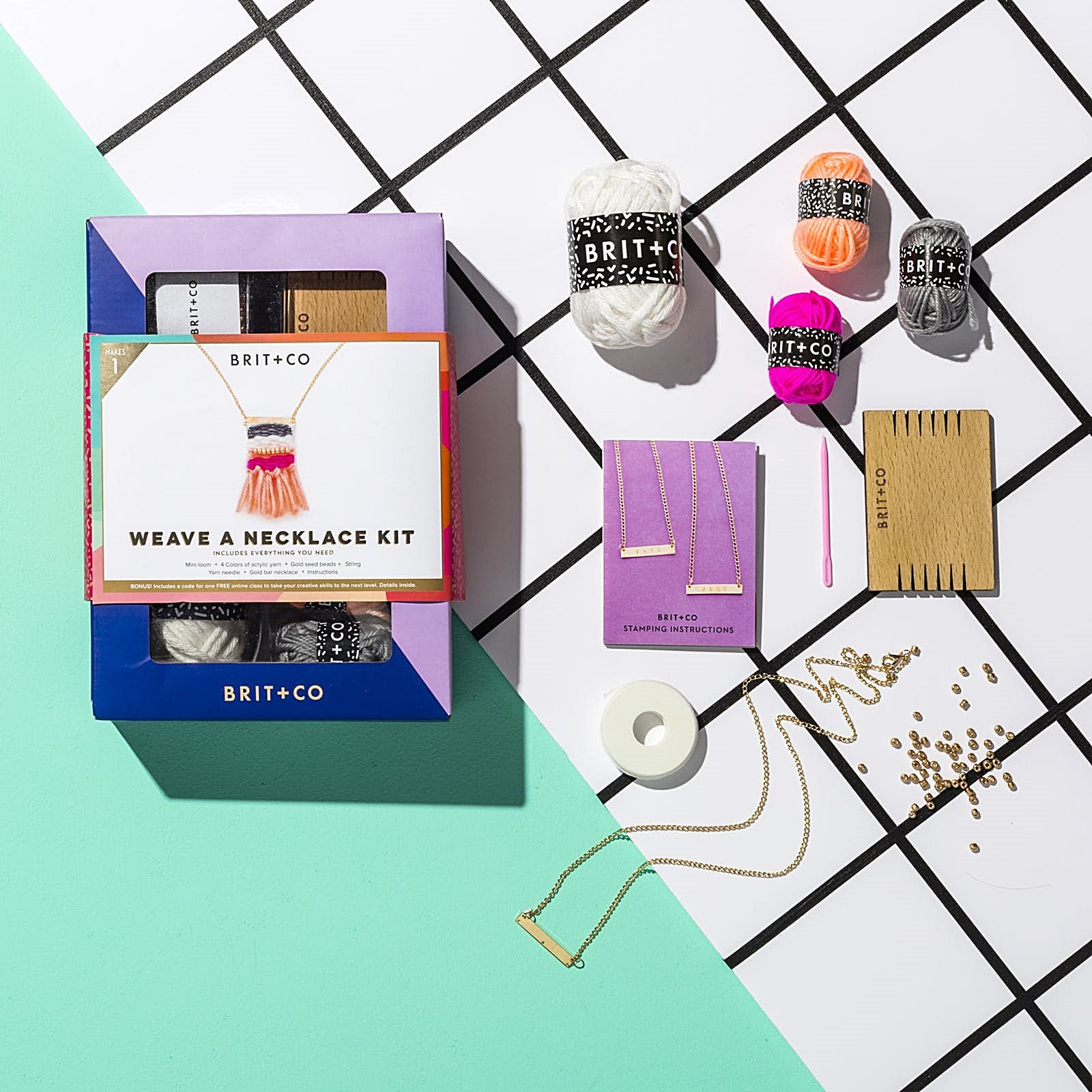 Do-it-Yourself Weave a Necklace Kit
