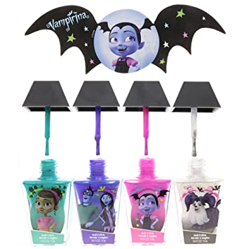 Amazon Com Townleygirl Vampirina Super Sparkly Nail Polish Set For
