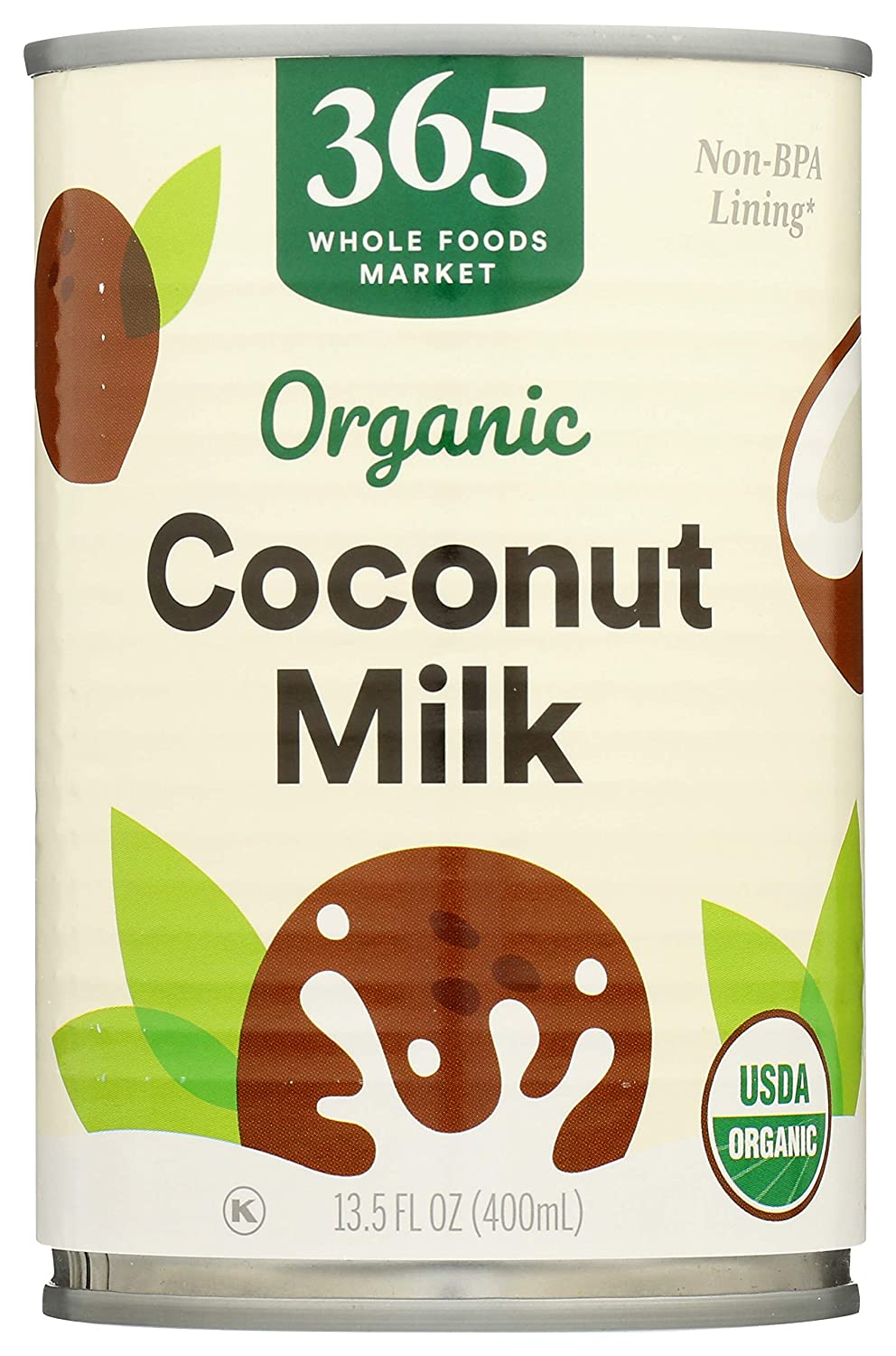365 by Whole Foods Market, Organic Coconut Milk, 13.5 Fl Oz
