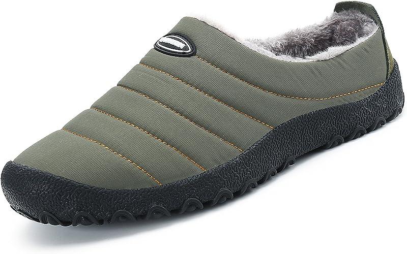 Chaussures Mode Homme Homme Femme Pantoufles En Peluche Chausson ...
