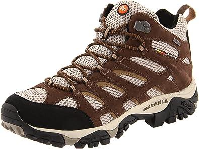 0bd9aad7 Amazon.com | Merrell Men's Moab Mid Waterproof Hiking Boot | Hiking ...