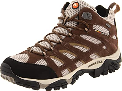 96705ad0c7 Amazon.com | Merrell Men's Moab Mid Waterproof Hiking Boot | Hiking ...