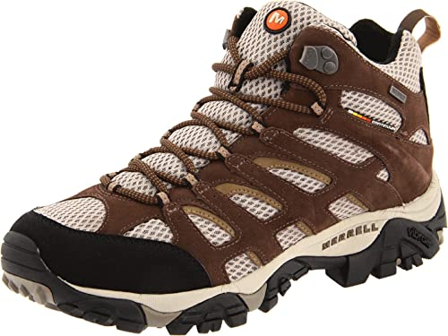 1d0acb83b9660 Amazon.com | Merrell Men's Moab Mid Waterproof Hiking Boot | Hiking ...
