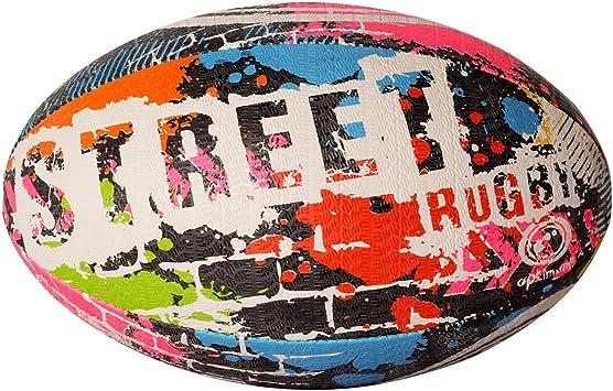 Optimum - Balón de rugby, Multicolor, 3: Amazon.es: Deportes y aire ...
