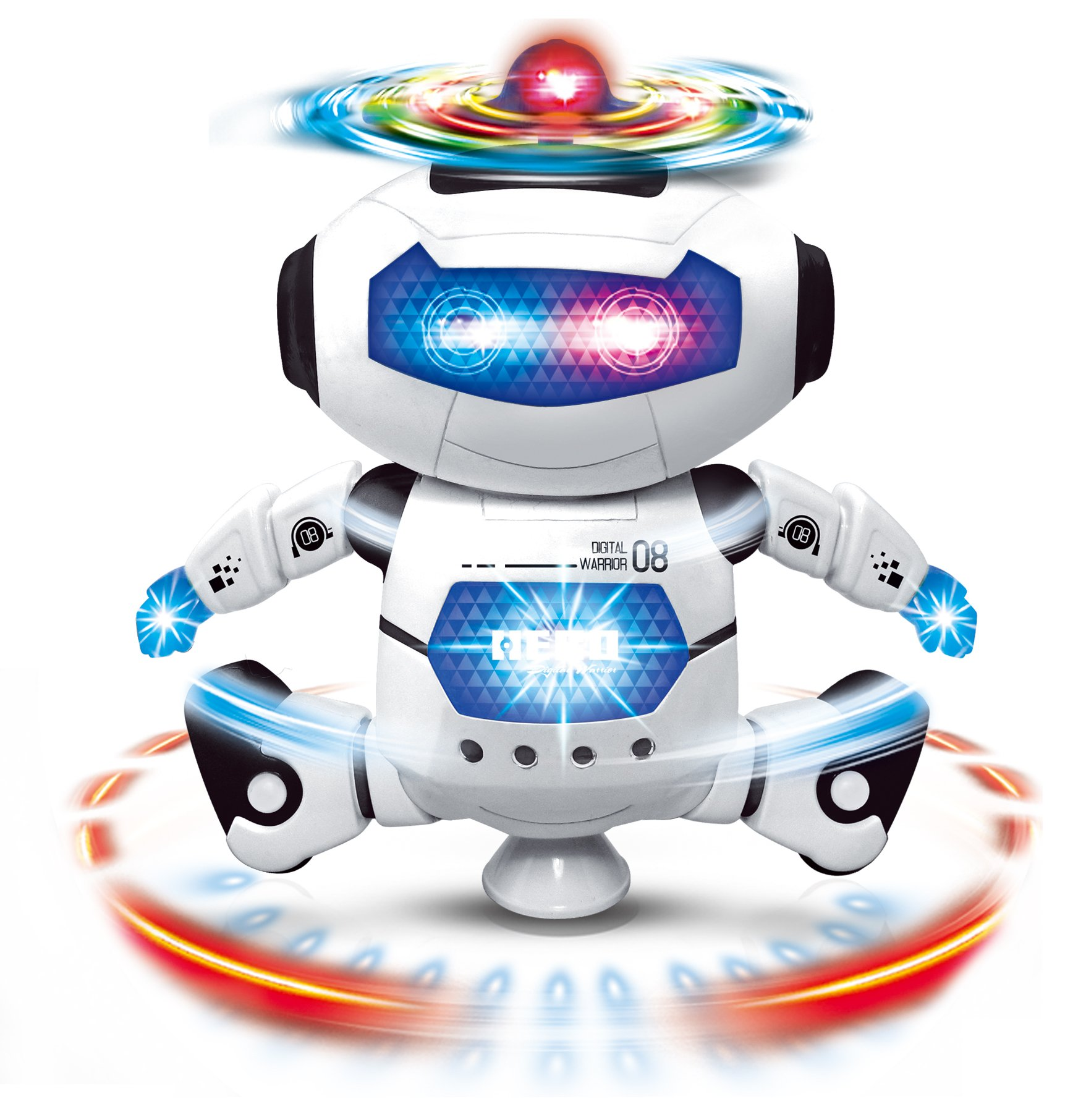 Boys Toys Electronic Walking Dancing Robot Toy - Toddler Toys - Best Gift for Boys and Girls 3 years old by CifToys (Image #8)