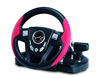 Genius SpeedWheel 3 Vibration Racing Wheel Windows 8 X64