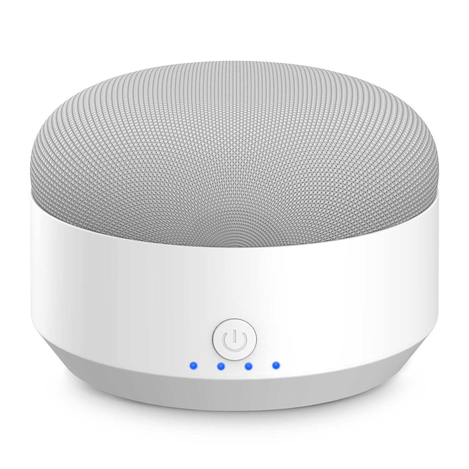 Myriann Portable Rechargeable Battery Base,5200mAh Anti-Slip Rubber Pads&Magnetic Base External Battery Power Bank For Google Home Mini,Charger(White)
