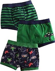 b91b28e971 Vaenait baby 2T-7T Kids Boys 100% Cotton Super Comfort Boxer Briefs 3-