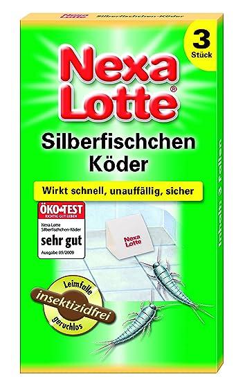 Nexa Lotte Silberfischchen-Köder - 3 St.: Amazon.de: Garten