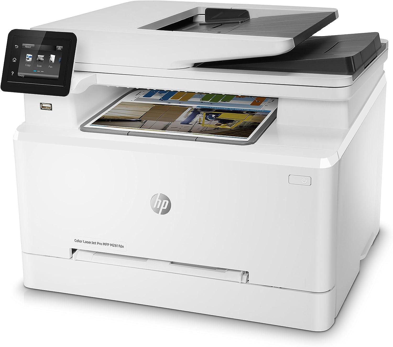 HP Color Laserjet Pro MFP M281fdn – Impresora láser multifunción ...