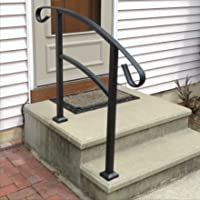 Railing Now   Triad 3FT Transitional Handrail (Matte Black)