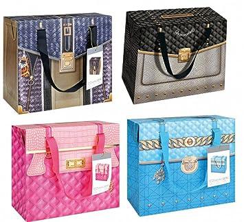 4c97b787b84ea Geschenktüten Geschenktüte quot Handtasche quot  verschiedene Motive zur  Auswahl Geschenktasche Geschenktaschen Geschenkpapier Geburtstag(Auswahl  blau