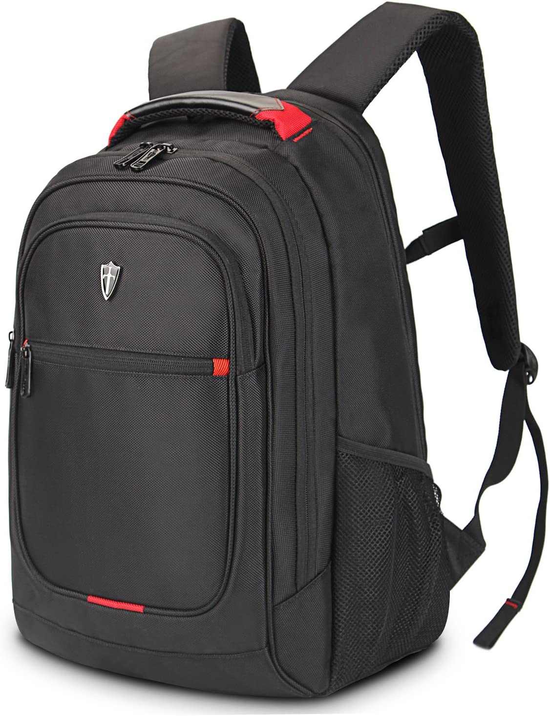 Victoriatourist V6019 Laptop Backpack College Rucksack Business Travel Hiking Daypack Fits MacBook Pro Most 15 Laptops, Black