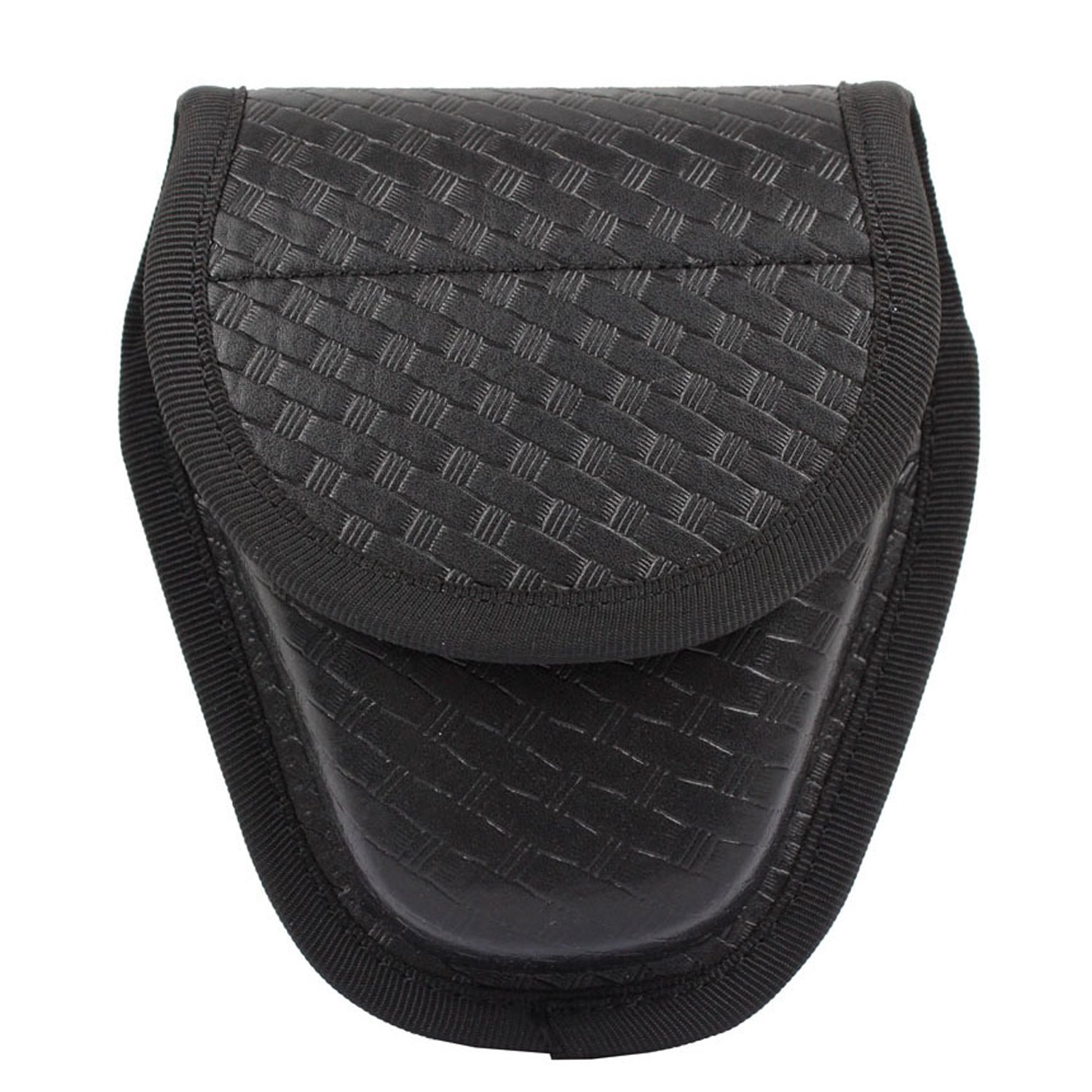 LytHarvest Double Basketweave Handcuff Case, Hidden Snap Handcuff Pouch by LytHarvest