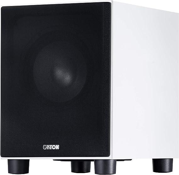 Canton Sub 8 4 White Audio Hifi