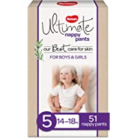 Huggies Ultimate Nappy Pants Size 5 (14-18kg) 51 Count