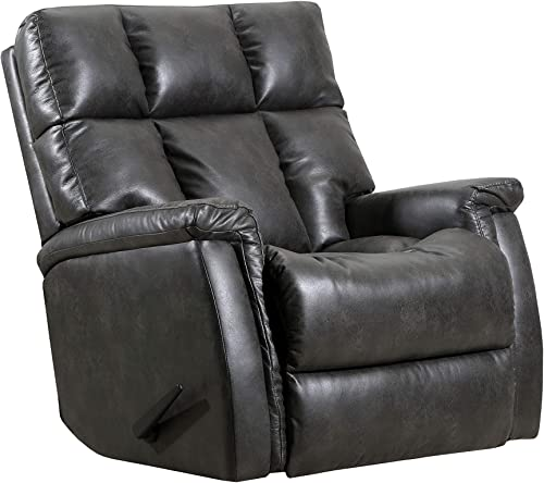 Lane Home Furnishings Rocker Recliner, Dark Grey