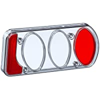 EUFAB 11500 Ersatzglas, neue Rauchglasversion