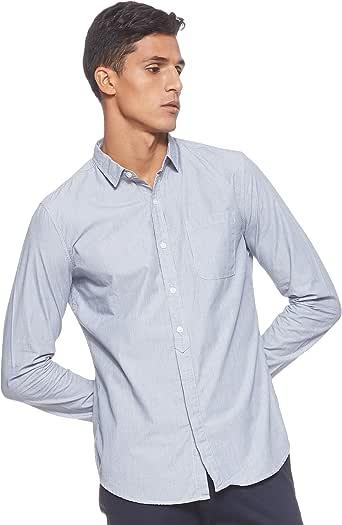 Levi's Mens Solid Regular fit Casual Shirt Shirt