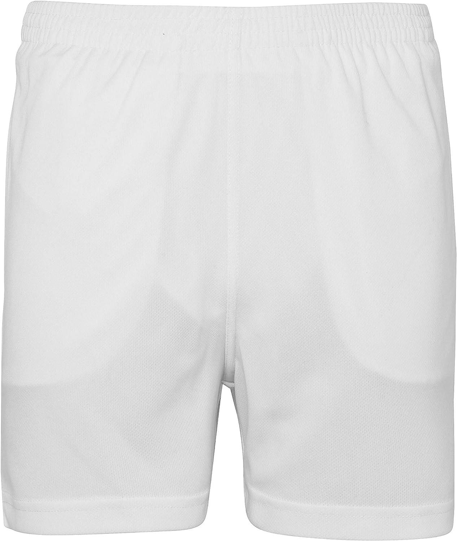 Short de Sport Enfant Respirant 100/% Polyester Taille de 3 /à 14 Ans