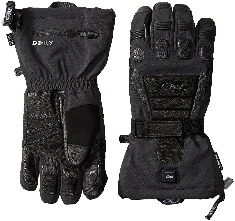Outdoor Research Men's Capstone Heated Gloves Black Medium [並行輸入品] B075K4T3ZW
