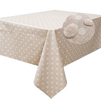 Amazoncom Fancyfix Tablecloth Heavy Duty Vinyl Rectangle Table - Heavy duty picnic table cloth
