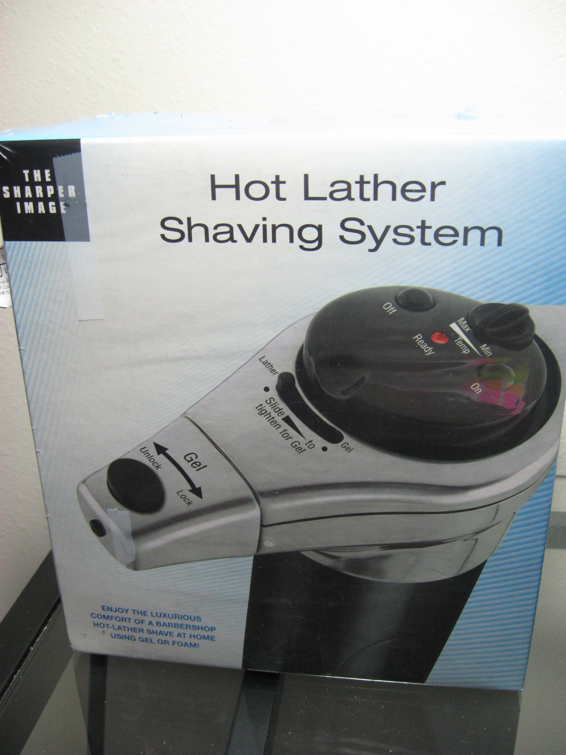 Sharper Image Hot Lather Shaving Machine