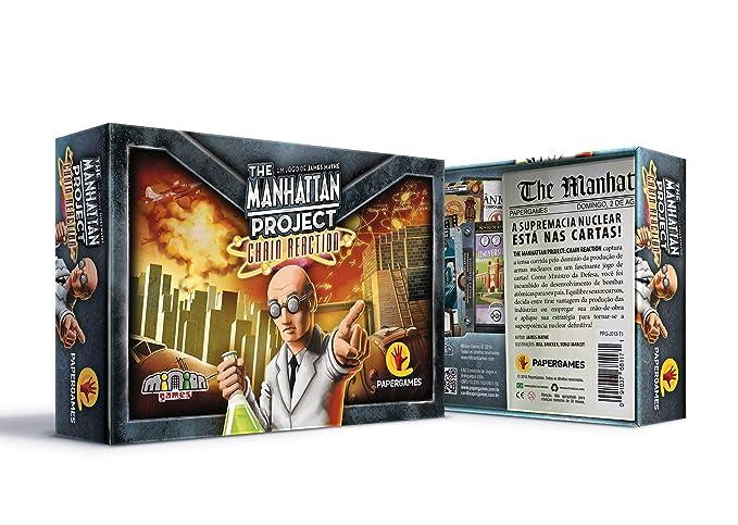 Amazon.com: Board Games Minion Games Manhattan Project, The ...