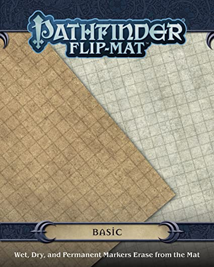 Tile Map Sheet Double Sided Flip Mat for D/&D Dungeons /& Dragons Pathfinder DnD