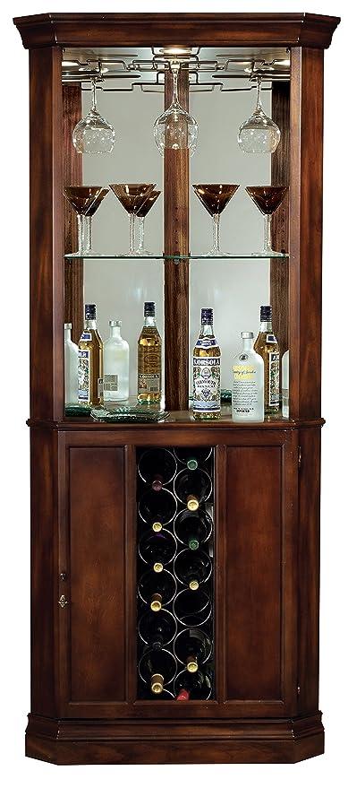 Amazon Com Howard Miller 690 000 Piedmont Corner Wine Cabinet