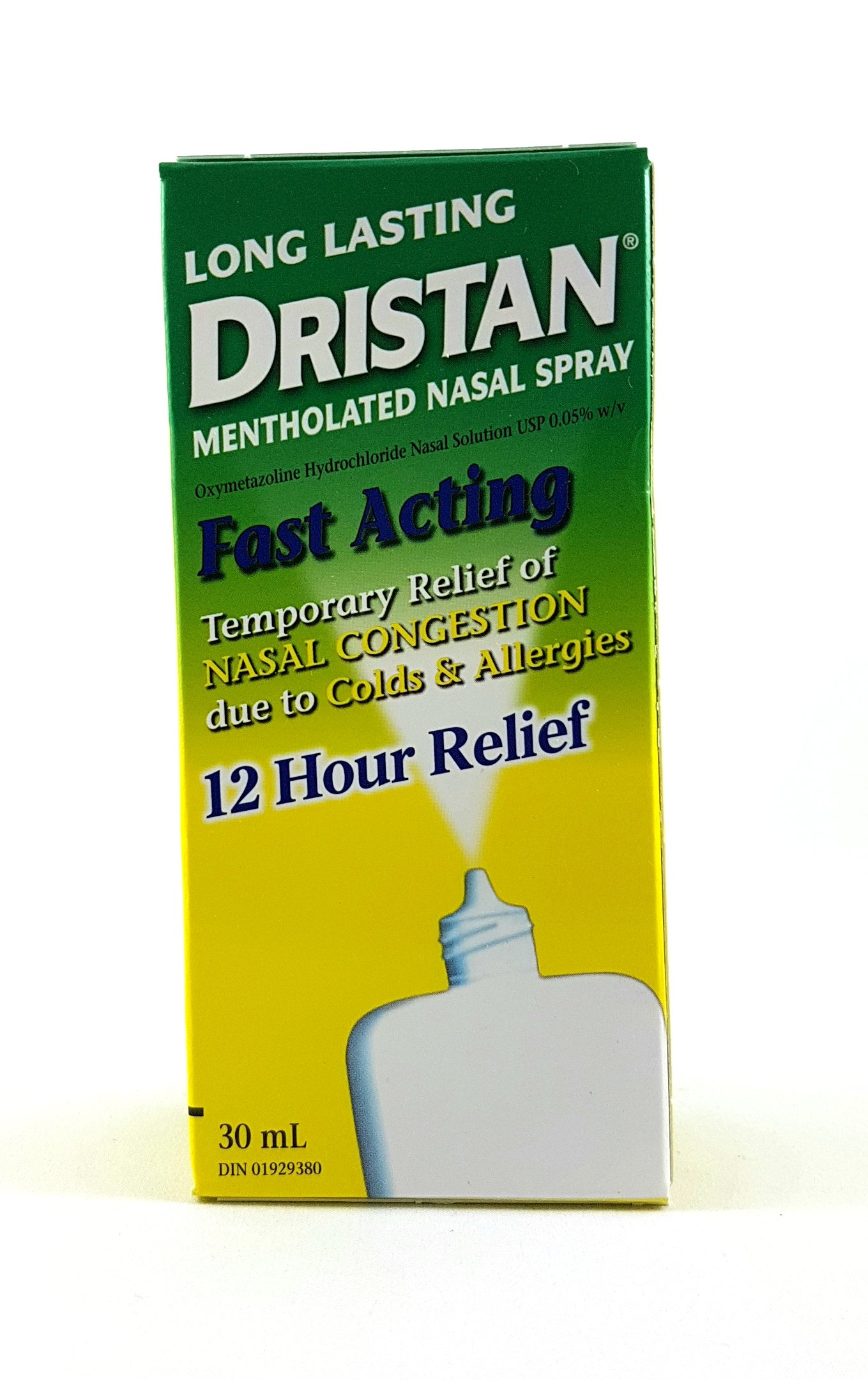 DRISTAN MENTHOLATED NASAL SPRAY LARGE 1oz SIZE