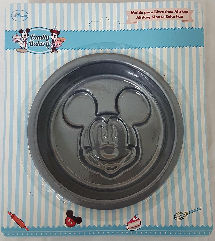 Amazon.com: Disney Mickey Mouse Cake Pan Non-Stick Metal Small: Kitchen & Dining