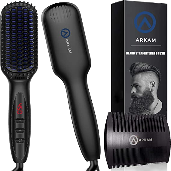 Arkam Beard Straightener for Men