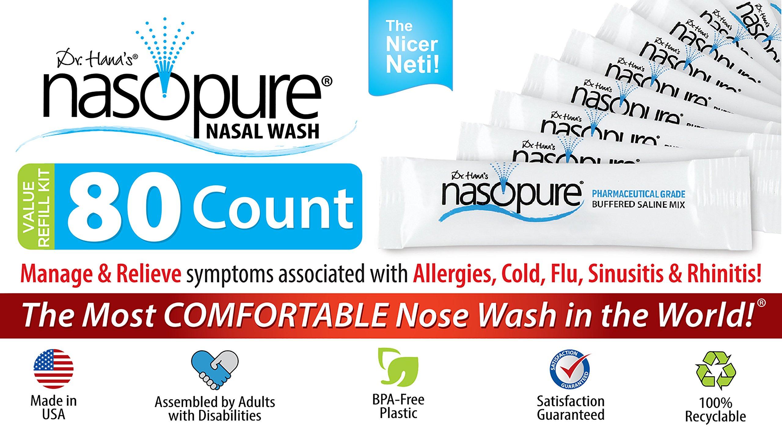"Amazon Nasopure ""Nicer Neti"" Pot Sinus Wash System 8 Ounce"