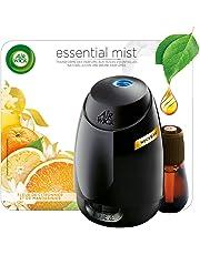 Air Wick Diffuseur d'Huiles Essentielles Essential Mist avec 1 recharge parfum Fleur de Citronnier et de Mandarinier