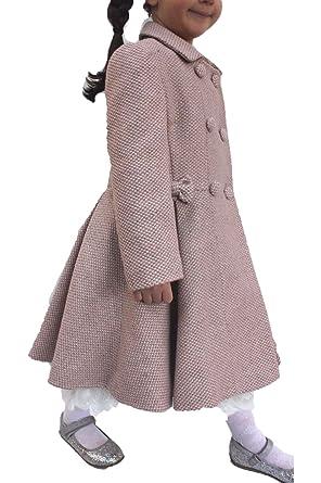 Monsoon - Abrigo - Gabardina - para niña rosa rosa: Amazon.es: Ropa y accesorios