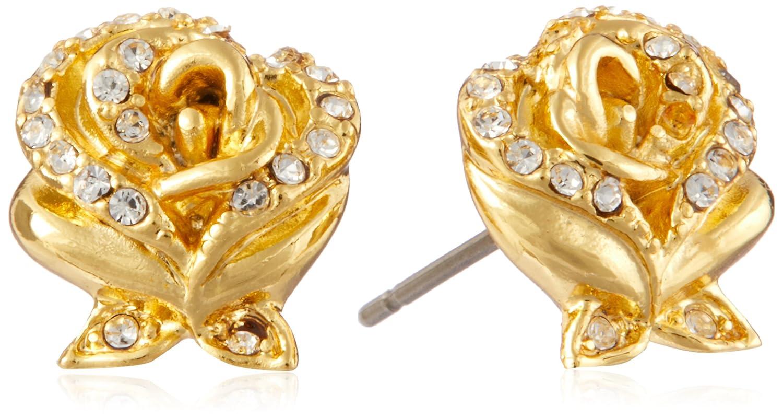 Goebel Couture Kingdom Micky Maus Ohrstecker Ohr Stecker Ohrring Schmuck Gold