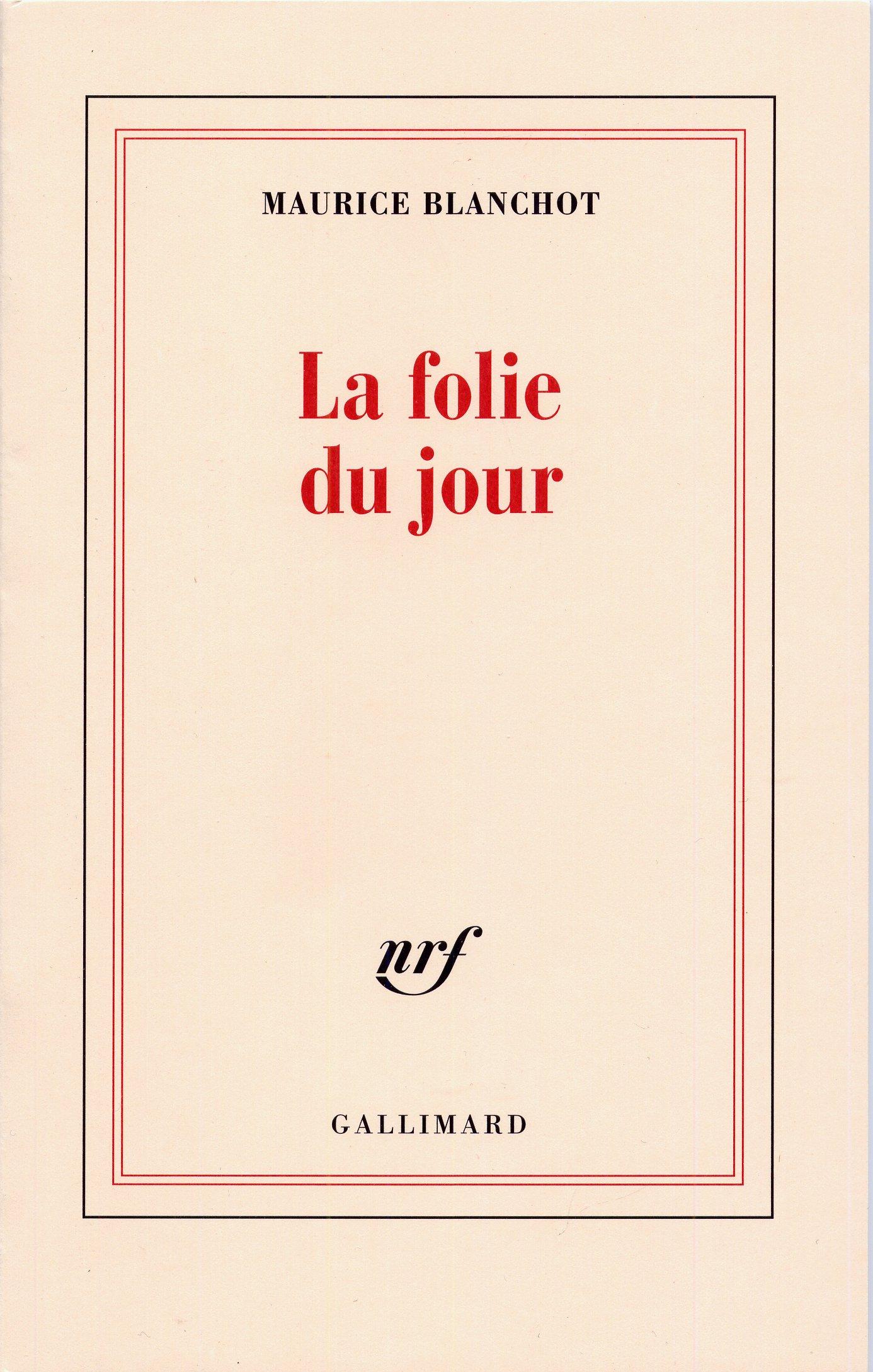 Download La Folie du jour ebook