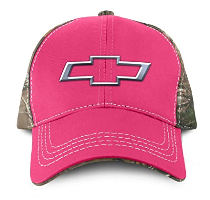 460012f65e9 Amazon.com  Buck Wear Chevy-Bowtie Pink Hat