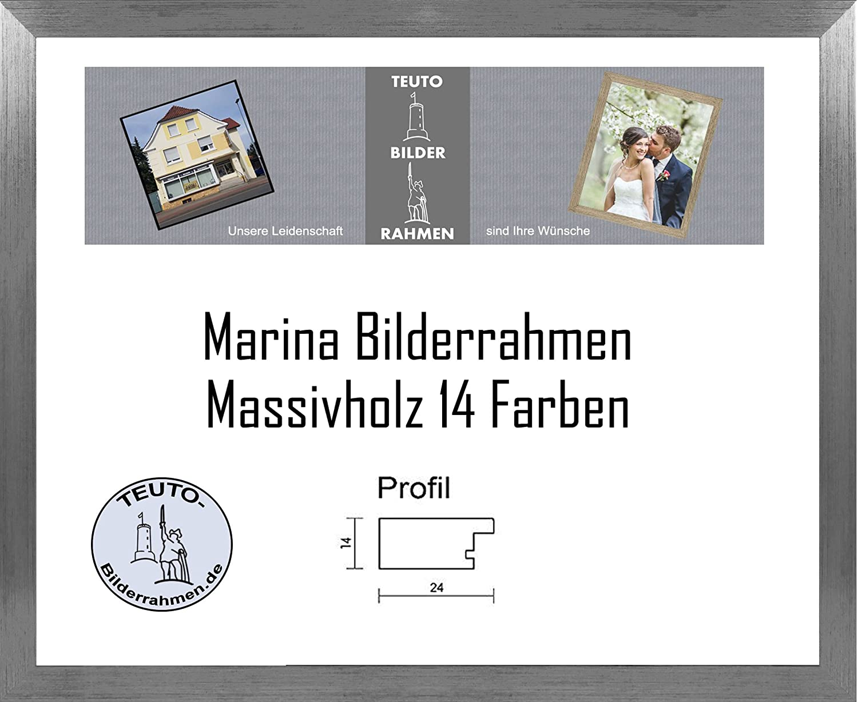 Marina Echtholz Bilderrahmen 24 x 32 cm Massivholz schlicht elegant ...