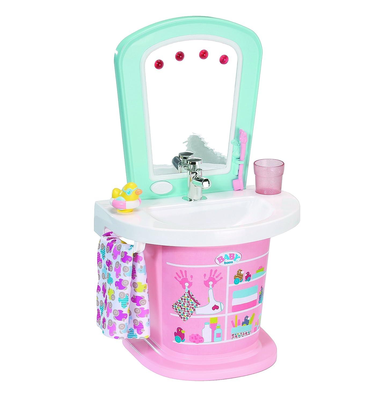 Waschbecken Puppen Spielzeug Bad Zubehör für Mädchen ab 3 NEU Puppen & Zubehör BABY Born 824078 Kleidung & Accessoires
