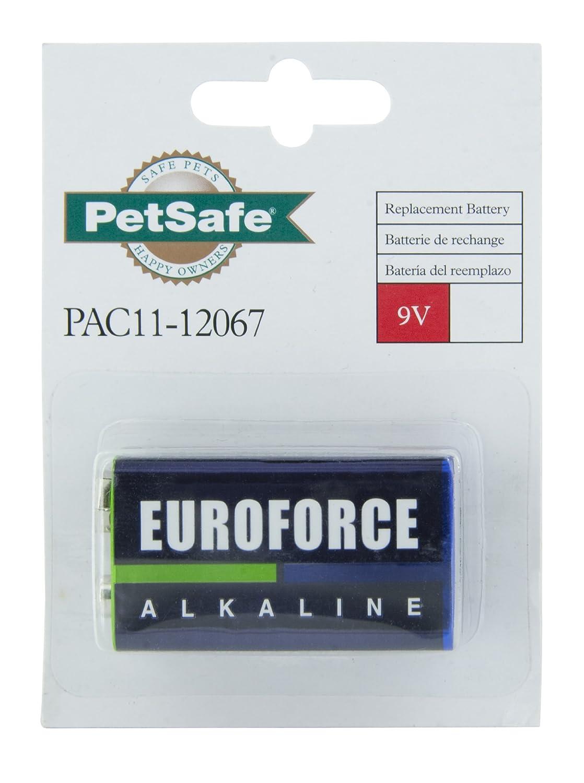 PetSafe 9 Volt Alkaline Replacement Battery for Dog Collar