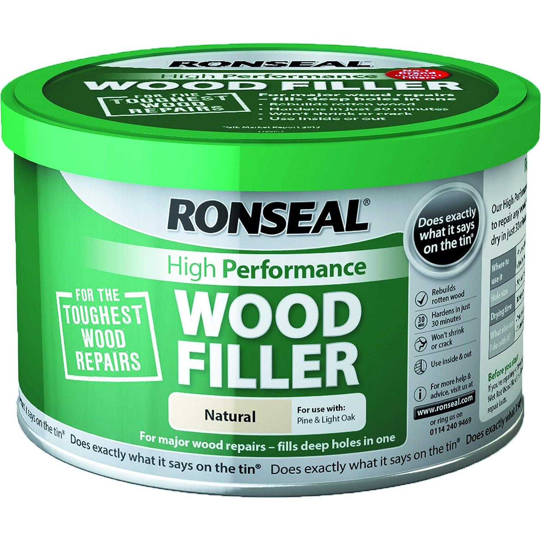 Ronseal High Performance Wood Filler - Natural 275g RSLHPWFN275G