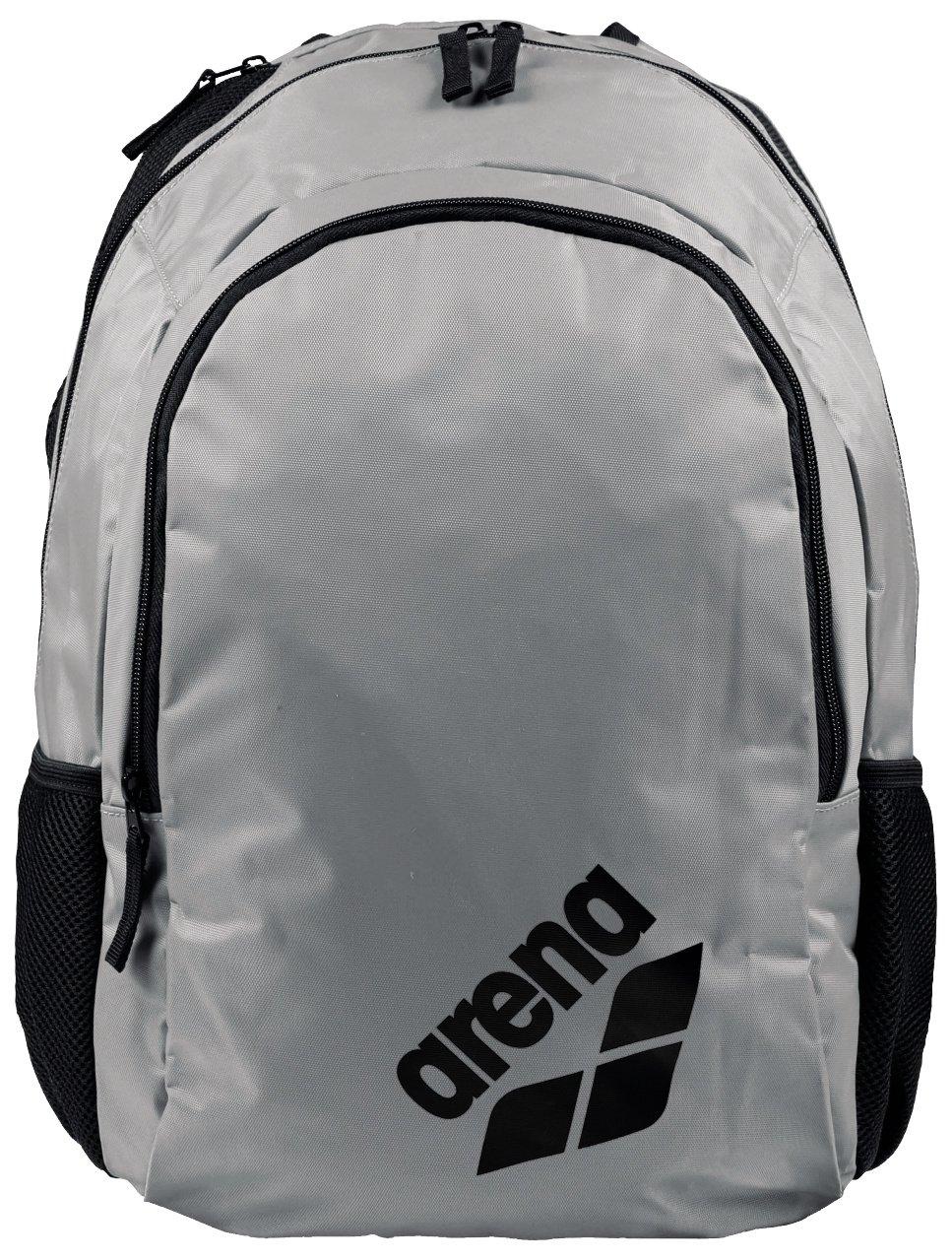 Arena Spiky 2 Swim Backpack, Silver Team