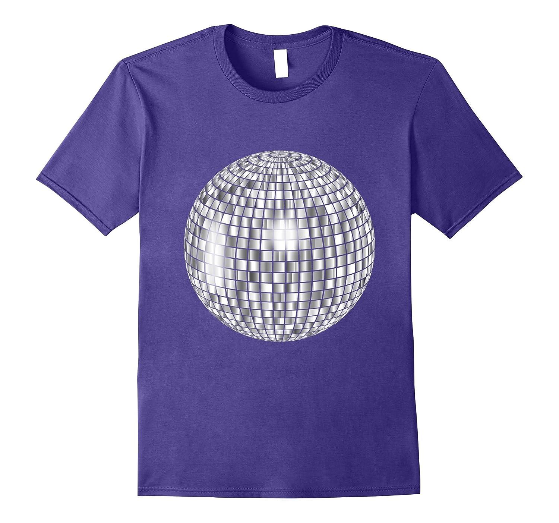 3a6a3034a Big Huge Disco Mirror Ball t-shirt 80's Club Dance Party-ANZ ⋆ Anztshirt
